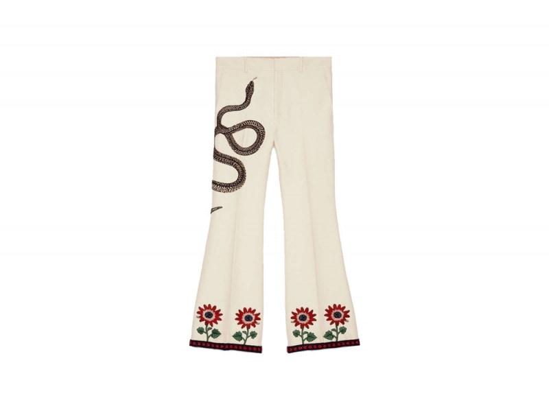 pantaloni-flare-gucci
