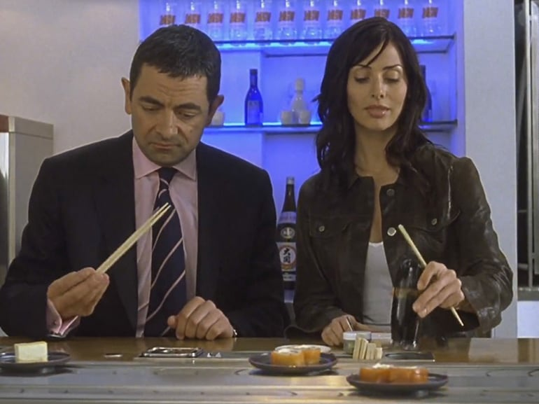 sushi bancone