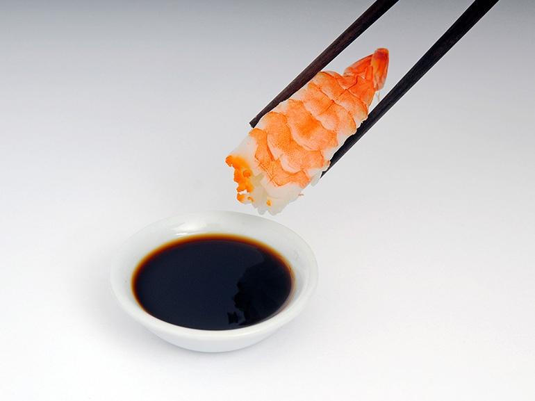 sushi salsa soia
