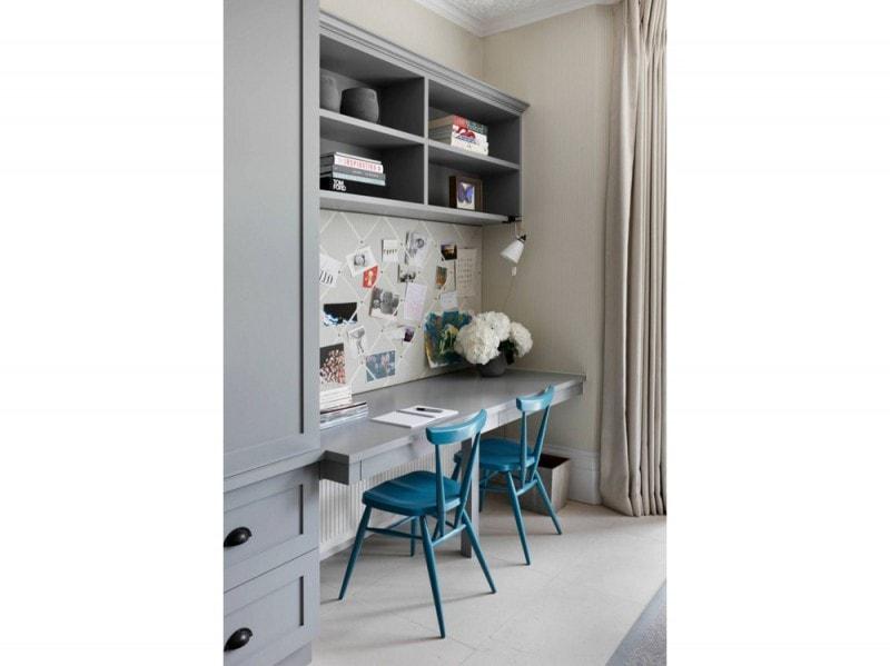 10-postazioni-lavoro-da-casa-parete-attrezzata-sedia-turchese
