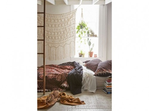 7-stile-etnico-camera-da-letto-tende-corda - Foto - Grazia.it