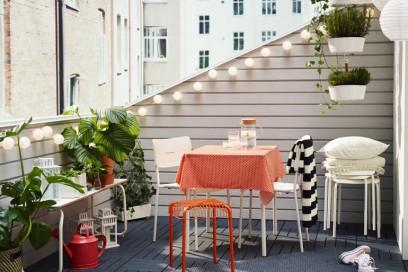 Balcone Ikea arancio