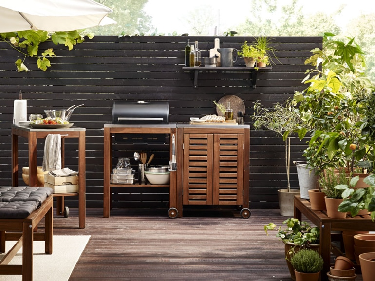 Ikea 20 ispirazioni per arredare il terrazzo grazia for Mobili per il terrazzo