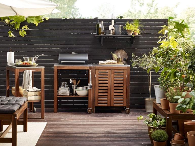 Ikea 20 ispirazioni per arredare il terrazzo - Arredamento da esterno ikea ...