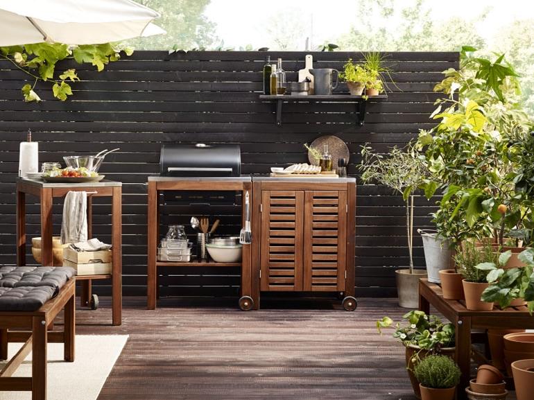 Ikea 20 ispirazioni per arredare il terrazzo grazia for Arredo terrazzo online