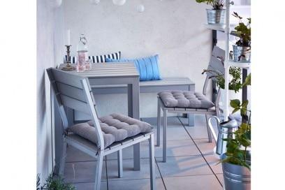 Balcone Ikea grigio