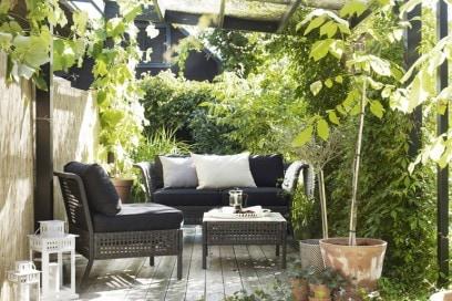 Balcone Ikea natura