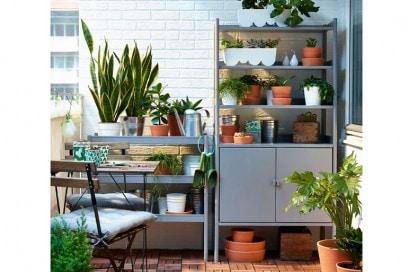 Balcone Ikea piante