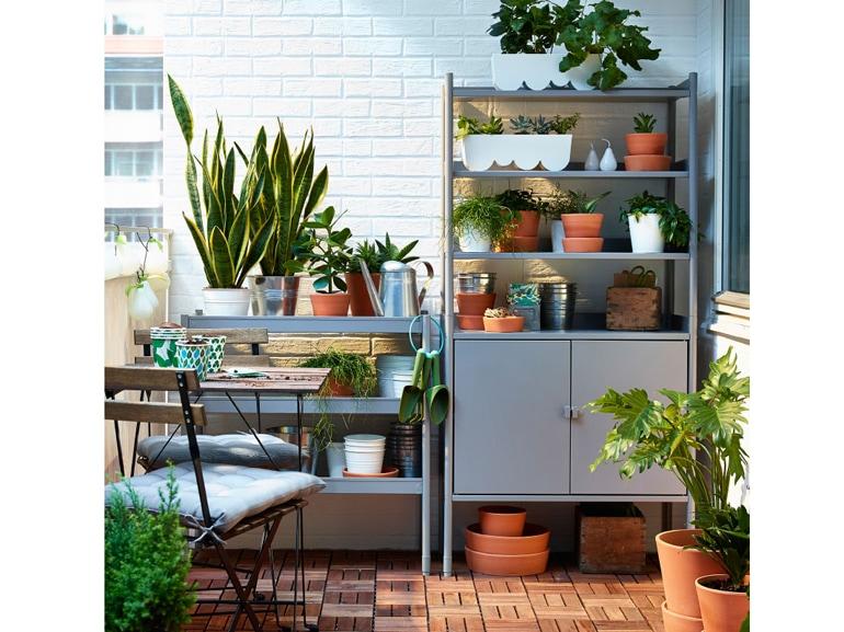 Ikea ispirazioni per arredare il terrazzo grazia