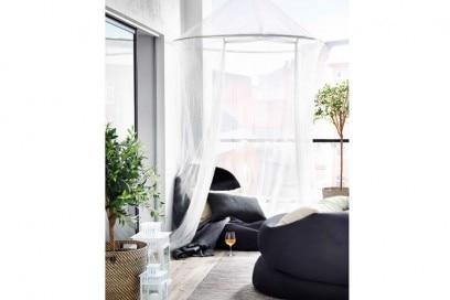 Balcone Ikea romantico