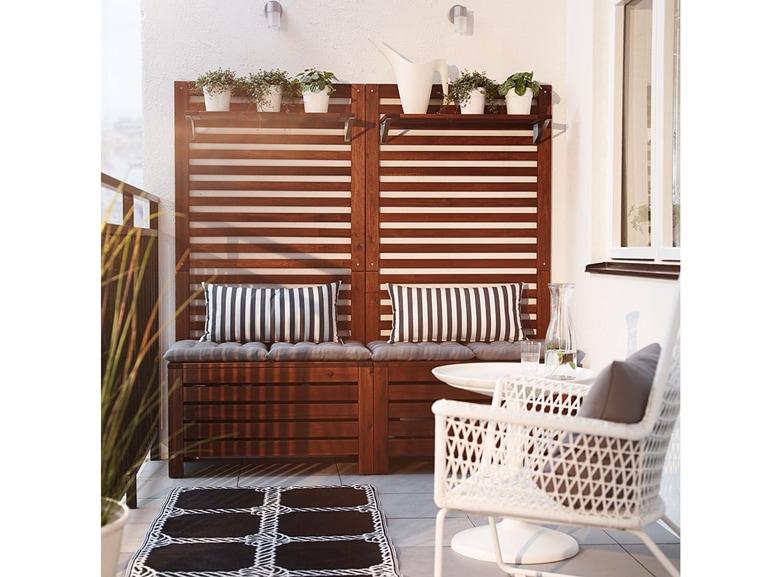 Ikea 20 ispirazioni per arredare il terrazzo for Pavimenti x esterni ikea