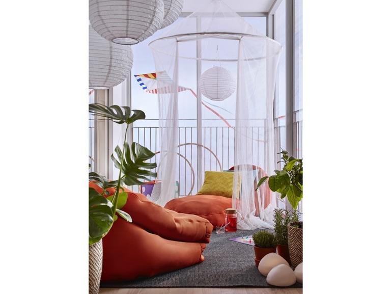 Balcone Ikea tende