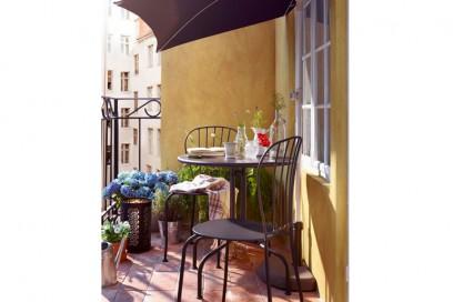 Balcone piccolo Ikea