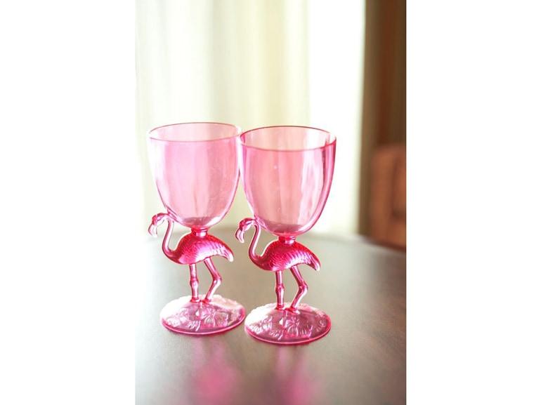 Bicchieri fenicottero