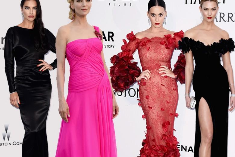 amfAR Gala: tutti gli abiti delle star a Cannes