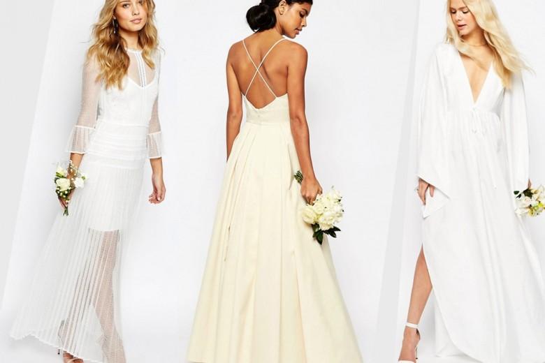 Asos lancia la prima linea di abiti da sposa
