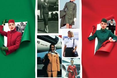 Alitalia: le nuove divise e quelle che hanno fatto la storia
