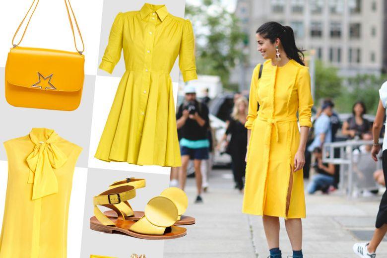 Shopping: in giallo con stile!