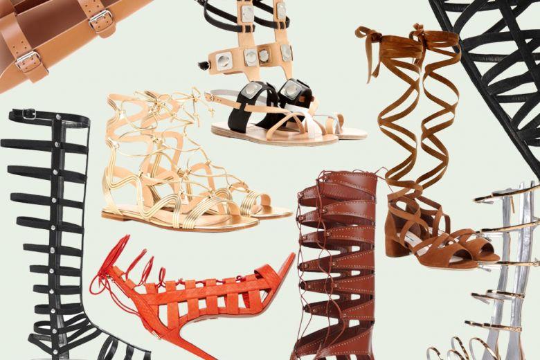 Sandali gladiatore: i must have per l'estate 2016