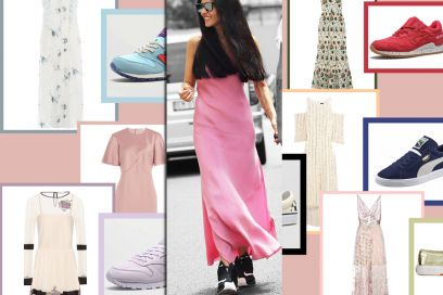 Come abbinare abiti eleganti a sneakers
