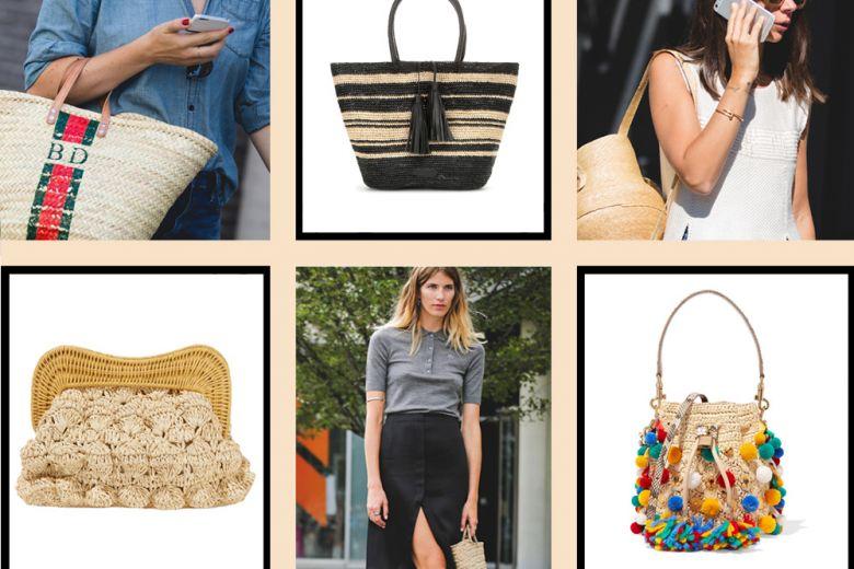 Come abbinare le borse in paglia per l'estate