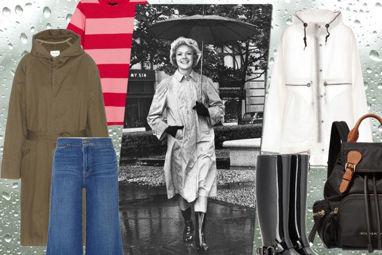Pioggia estiva: come vestirsi
