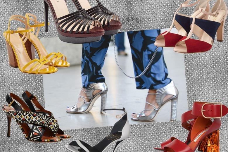 Sandali con il tacco: i modelli per l'estate