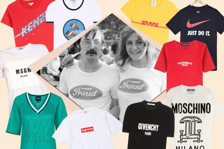 Le t-shirt con logo per l'estate 2016