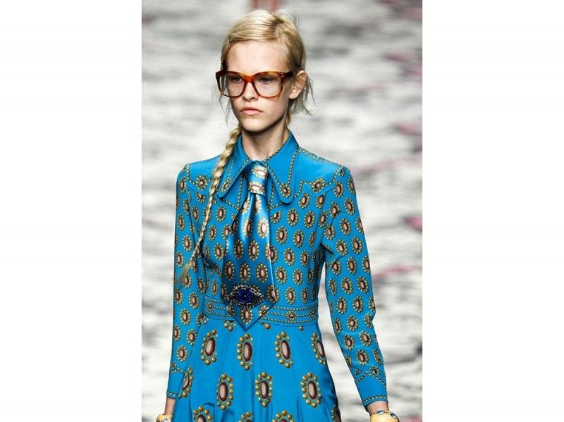 Gucci capelli raccolti estate 2016