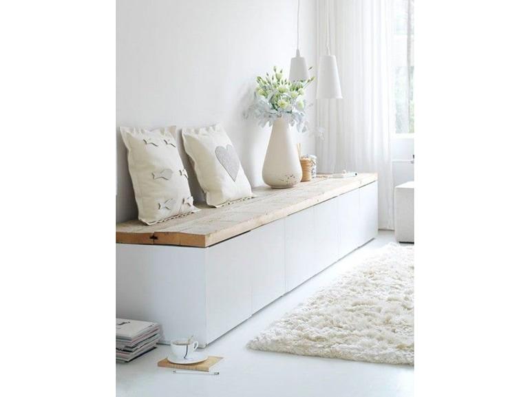 Ikea hacking 20 idee per personalizzare i tuoi mobili preferiti grazia - Panche per ingresso casa ...
