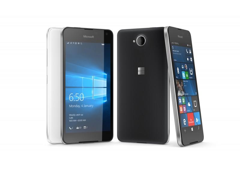 Lumia 650 – Bianco e nero