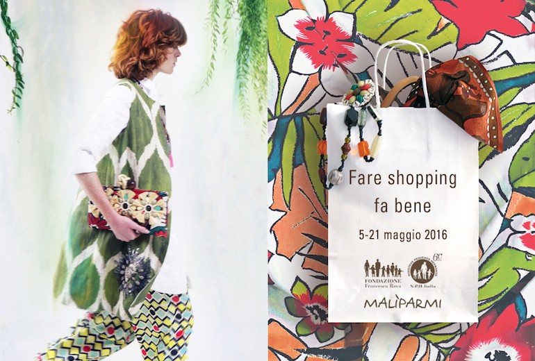 Fare shopping fa bene con Malìparmi e la Fondazione Francesca Rava