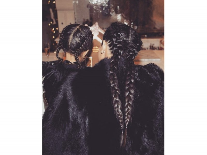 boxer braids kim e north kardashian