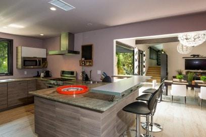 casa miley cyrus cucina