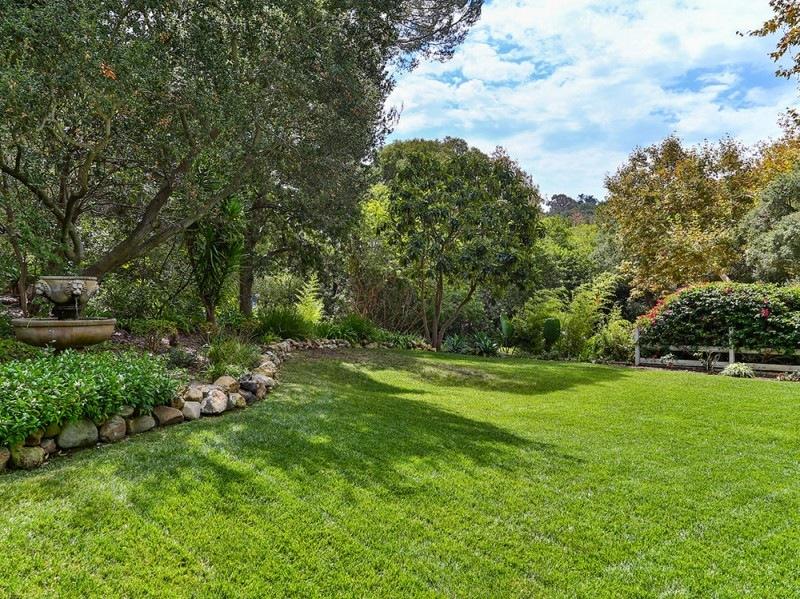 casa miley cyrus giardino