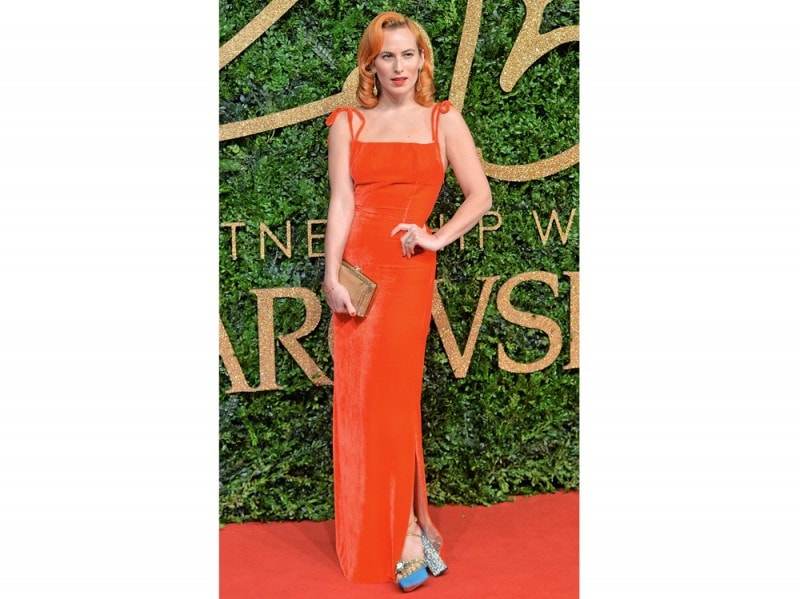 charlotte olympia in lungo rosso GettyImages