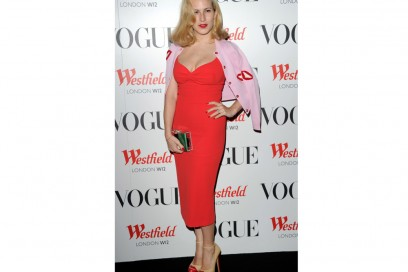 charlotte olympia tubino rosso GettyImages