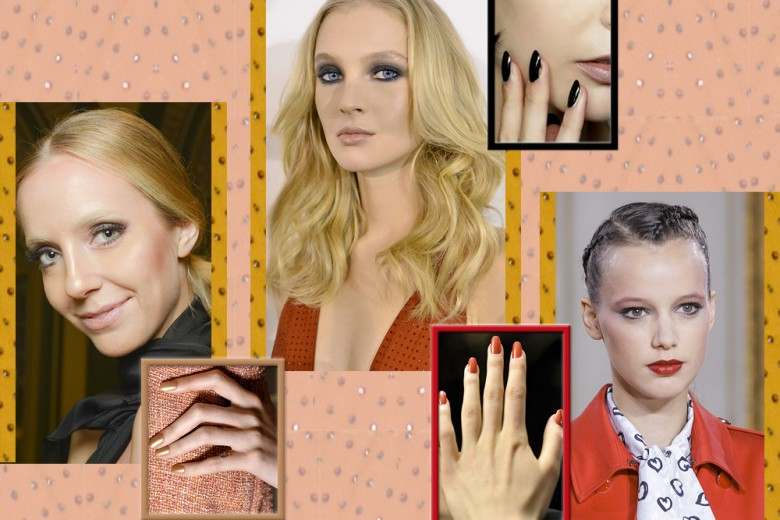 Smalti e rossetti: gli abbinamenti più cool