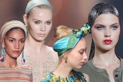 Fasce per capelli: 10 proposte glamour da indossare ora