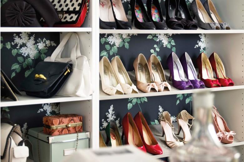 12 modi originali per tenere le scarpe in ordine (o almeno provarci)
