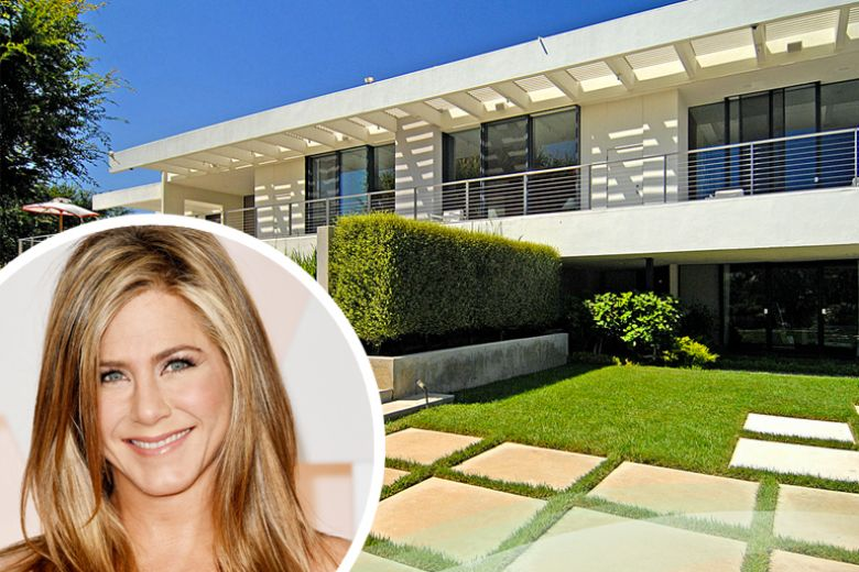 La casa di Jennifer Aniston a Bel Air