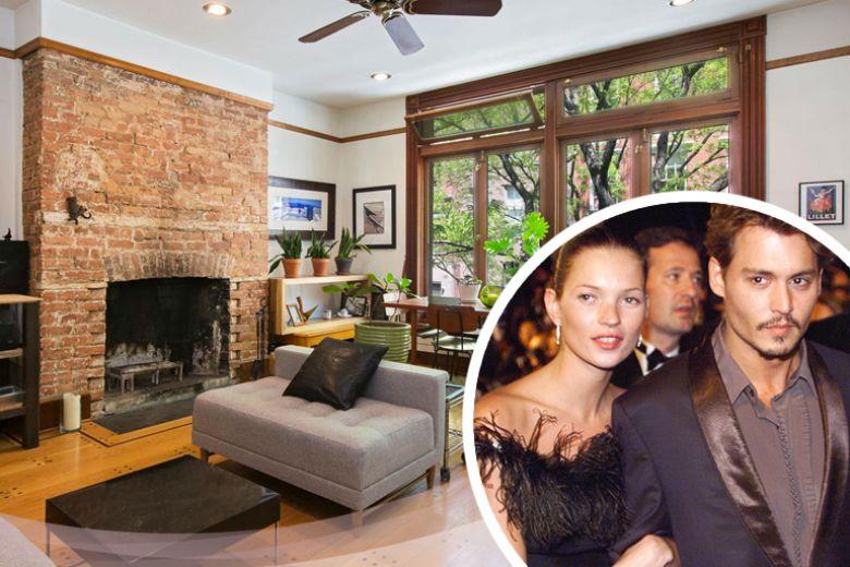 Volete affittare il nido d'amore di Kate Moss e Johnny Depp?