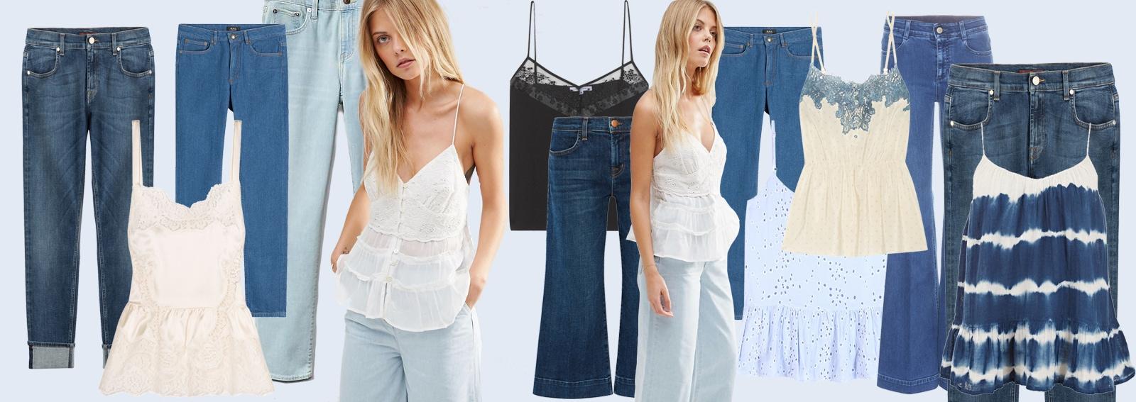 cover come abbinare canottiere e jeans desktop