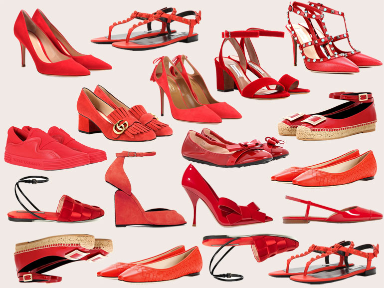 cover something red le scarpe rosse mobile