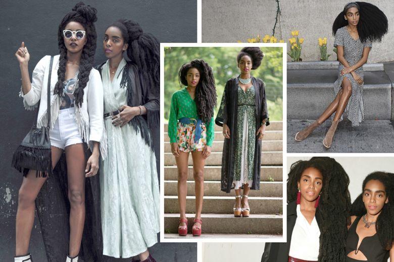 Cipriana e TK Wonder Quann: black (fashion) power
