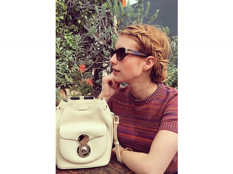 emma roberts capelli 2016 fishbraid