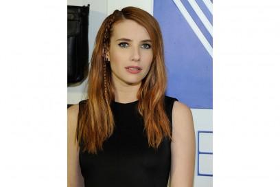 emma roberts capelli 2016 treccina