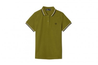 fred-perry-polo-verde-oliva
