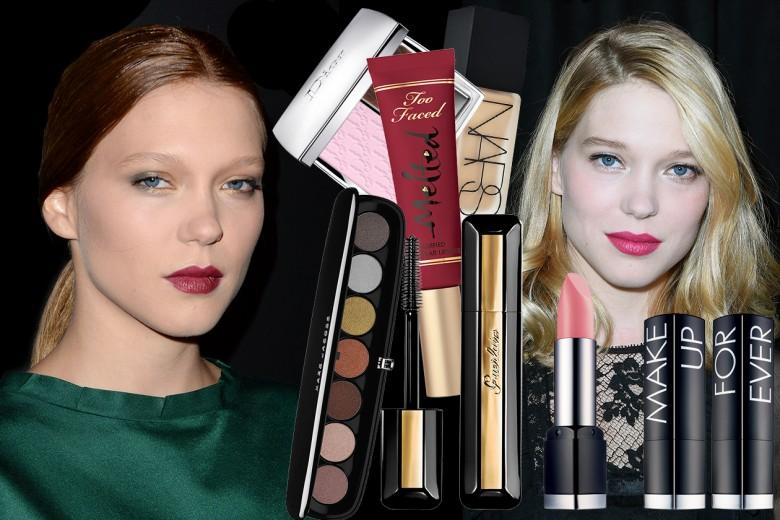 Lea Seydoux trucco: i beauty look con labbra protagoniste