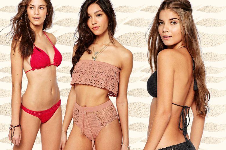 Costumi: i modelli all'uncinetto più belli dell'estate 2016